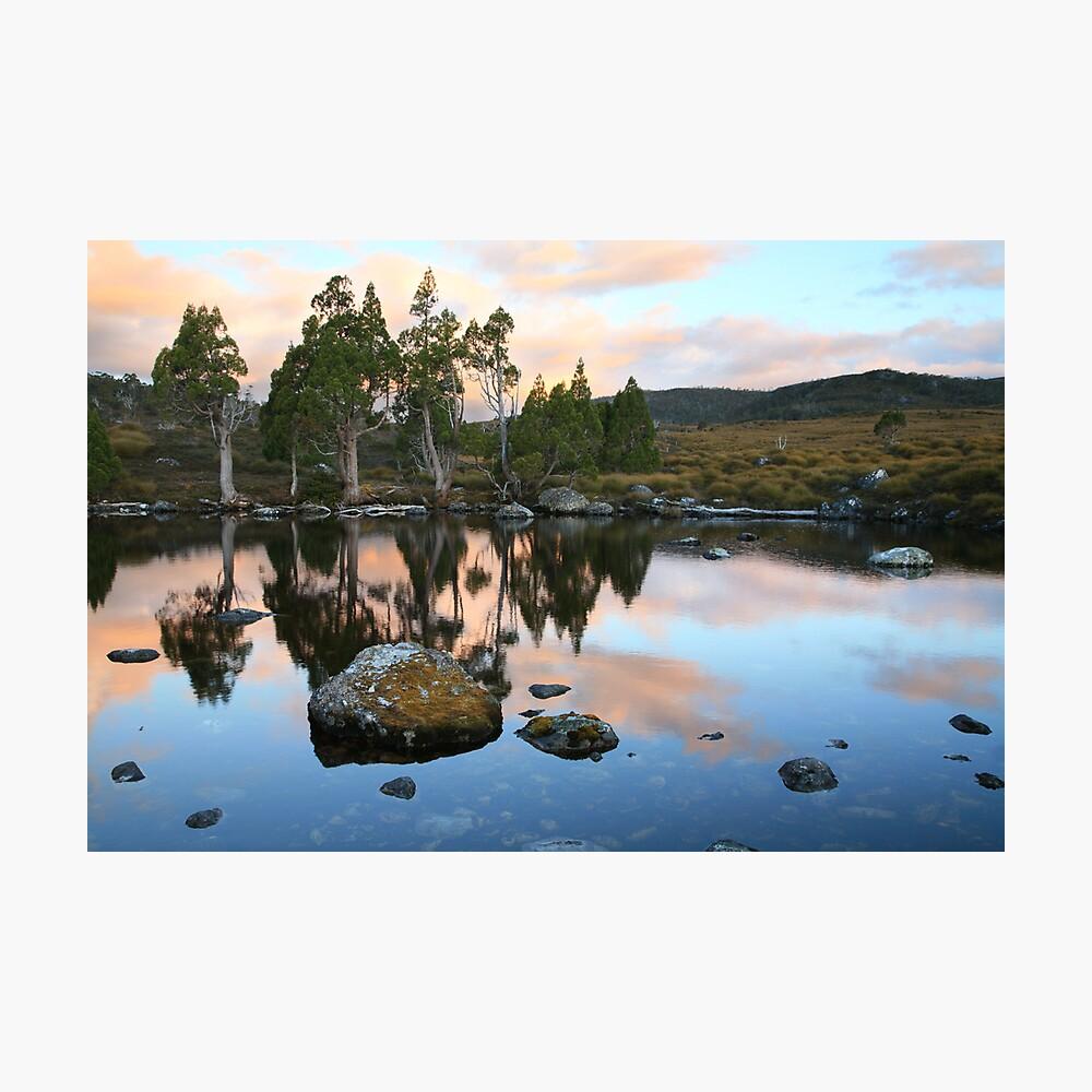 Tarn Reflections, Cradle Mountain National Park, Australia Photographic Print
