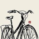 « UrbArt - Bike Sketch » par UrbArt