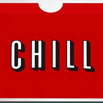 NETFLIX CHILL | Retro DVD Mailer Style by PureCreations