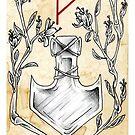 Elder Futhark 3. Thurisa by hauntingbeauty