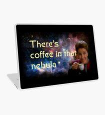 There is coffee in that nebula - Kathryn janeway Star Trek Voyager Laptop Skin