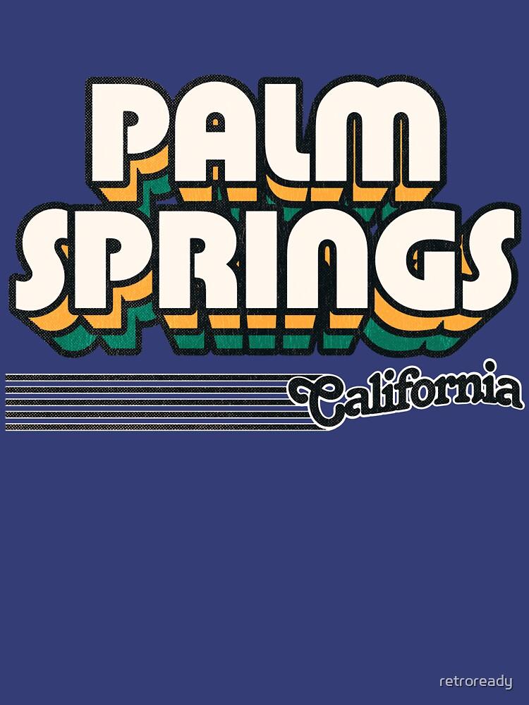 Palm Springs, California   Retro Stripes by retroready