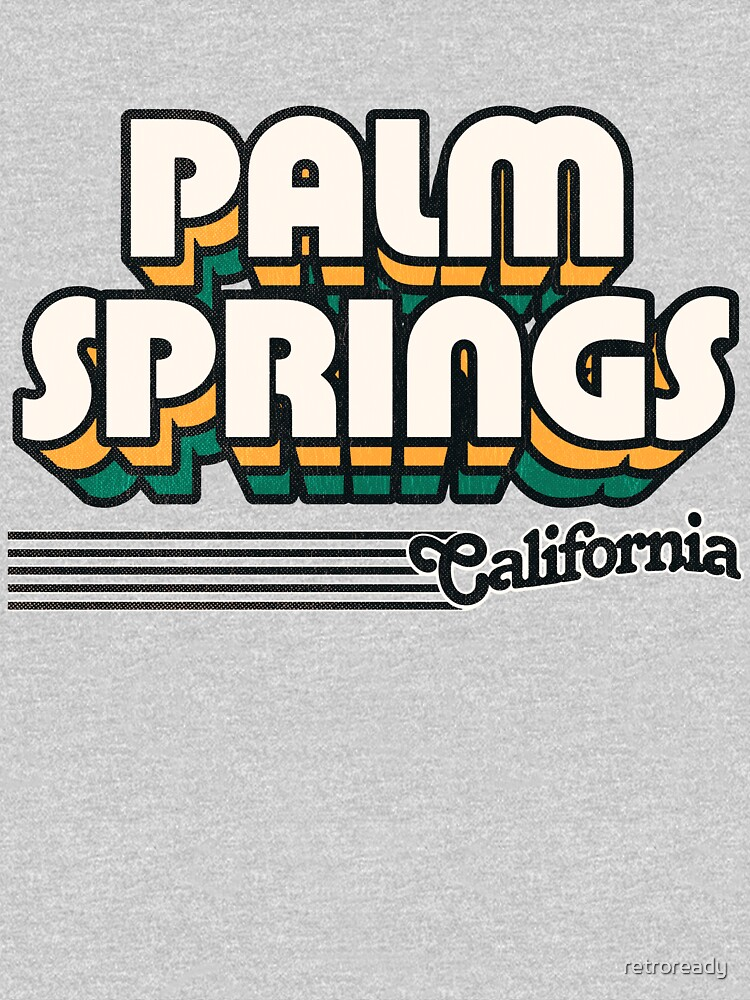 Palm Springs, California | Retro Stripes by retroready