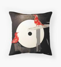Red birds Coussin