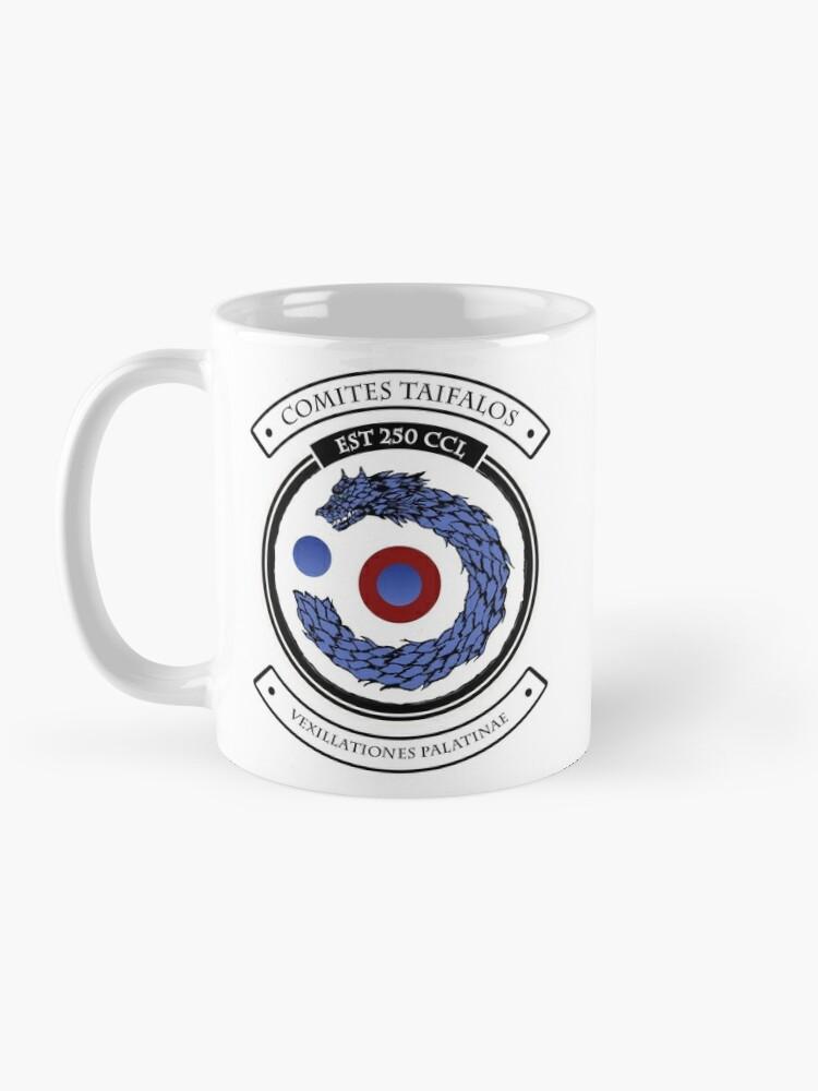 Alternate view of Taifalos Family Heraldic Shield - Coffee Mug Mug