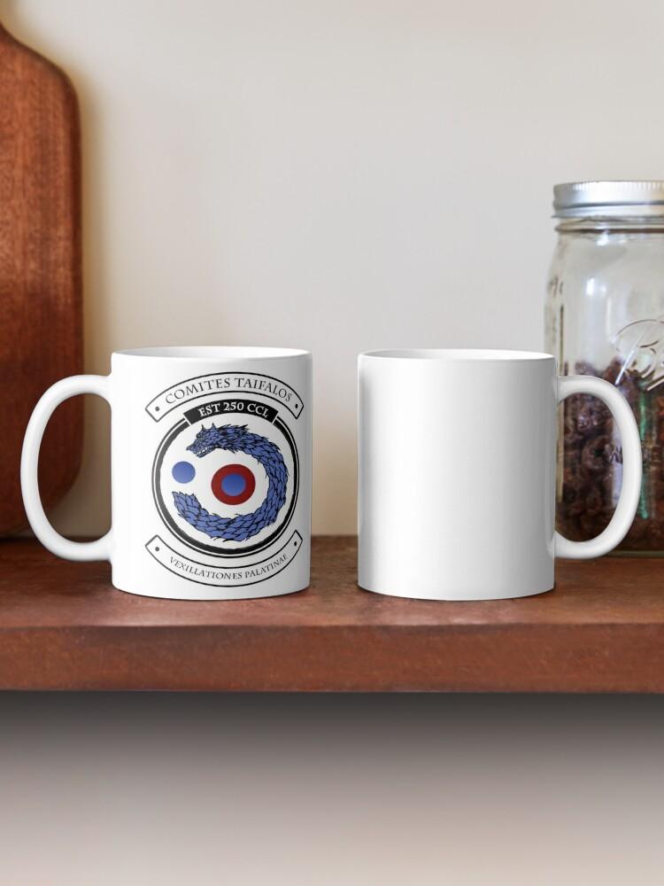 Alternate view of Taifalos Family Crest - Coat of Arms Mug