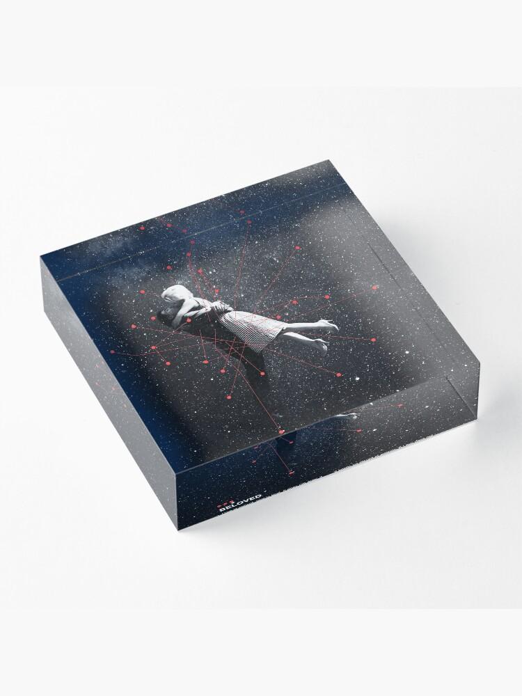 Alternate view of Beloved Acrylic Block