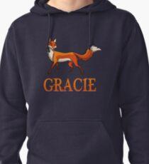 Gracie Fox Pullover Hoodie