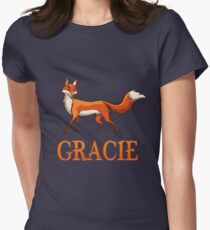 Gracie Fox Women's Fitted T-Shirt