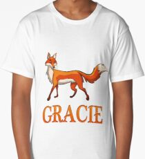 Gracie Fox Long T-Shirt