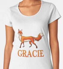 Gracie Fox Women's Premium T-Shirt