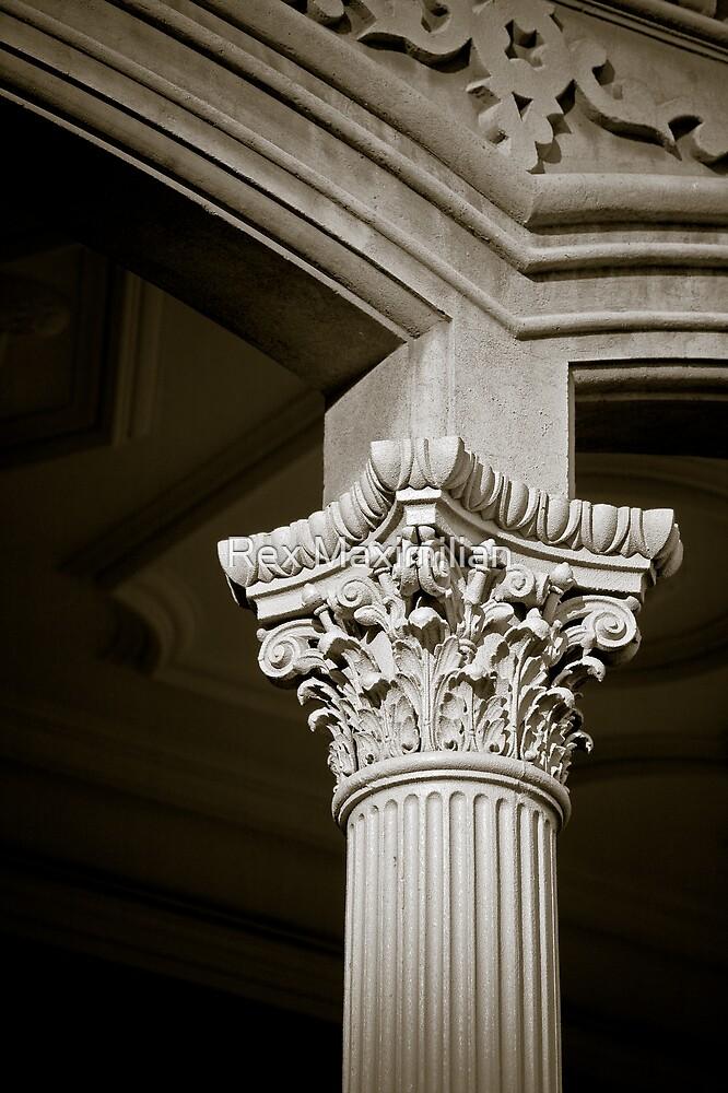 'Iolani Palace Column Capital by Rex Maximilian