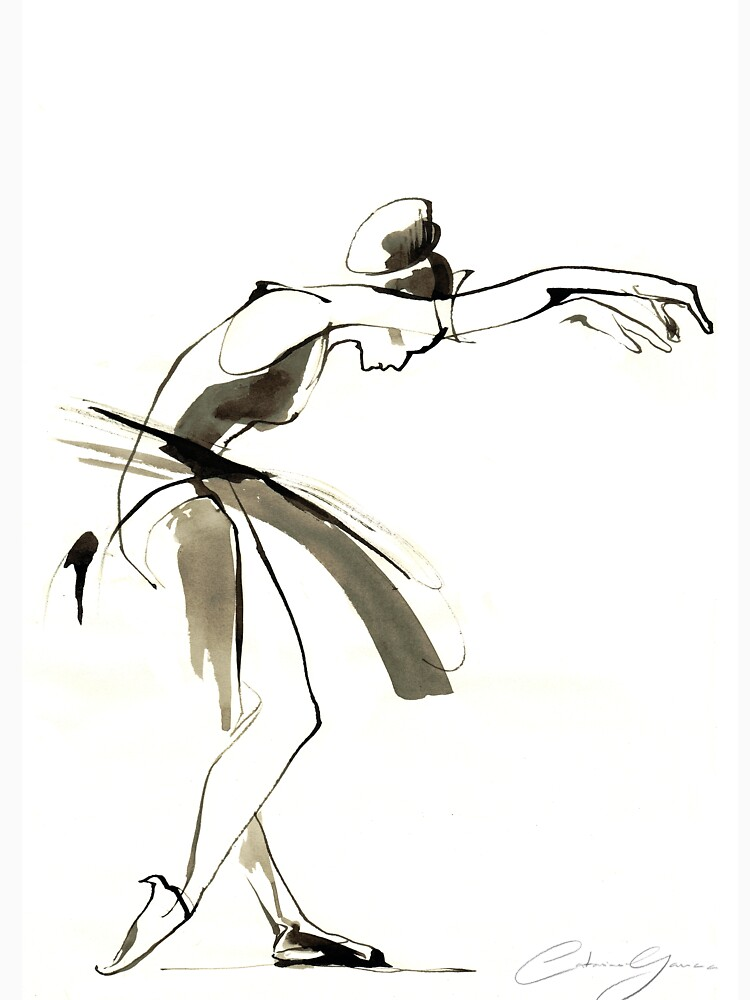 Dance Drawing by CatarinaGarcia