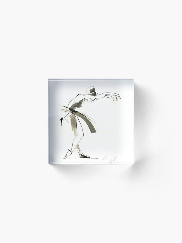 Alternate view of Dance Drawing Acrylic Block