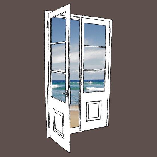TShirtGifter presents: Beach Door