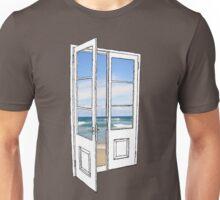 Beach Door Unisex T-Shirt