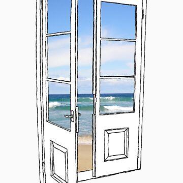 Beach Door by franciswhite