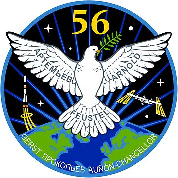 ISS Expedition 56 Flight Crew Patch by Spacestuffplus