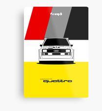 Gruppe B Farben | Sport Quattro. Metallbild