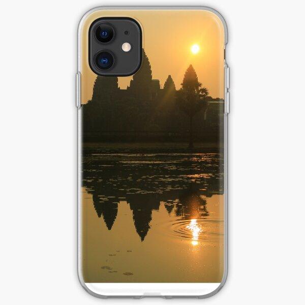 Angkor Wat Temple sunrise iPhone Soft Case