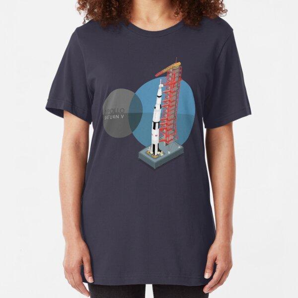 Saturn V Slim Fit T-Shirt