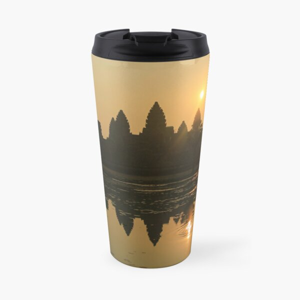 Angkor Wat Temple sunrise Travel Mug