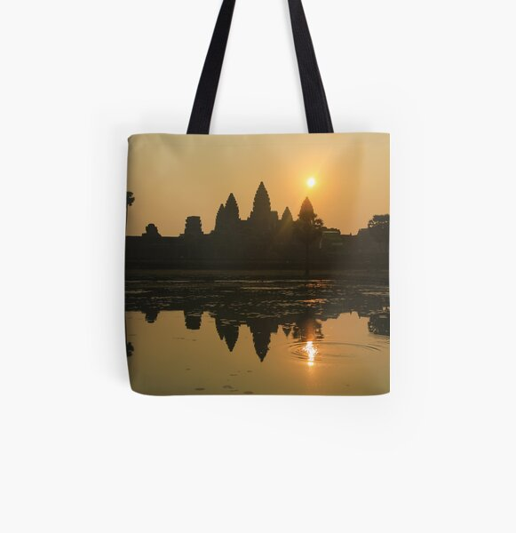 Angkor Wat Temple sunrise All Over Print Tote Bag