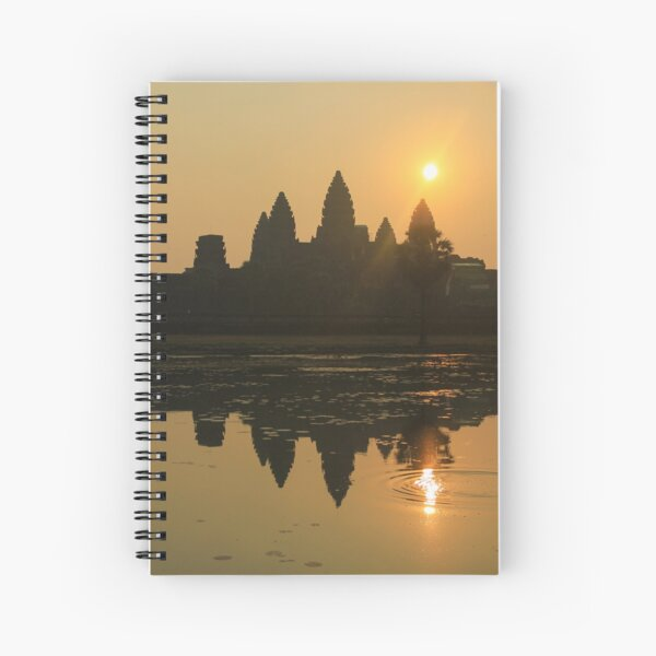 Angkor Wat Temple sunrise Spiral Notebook
