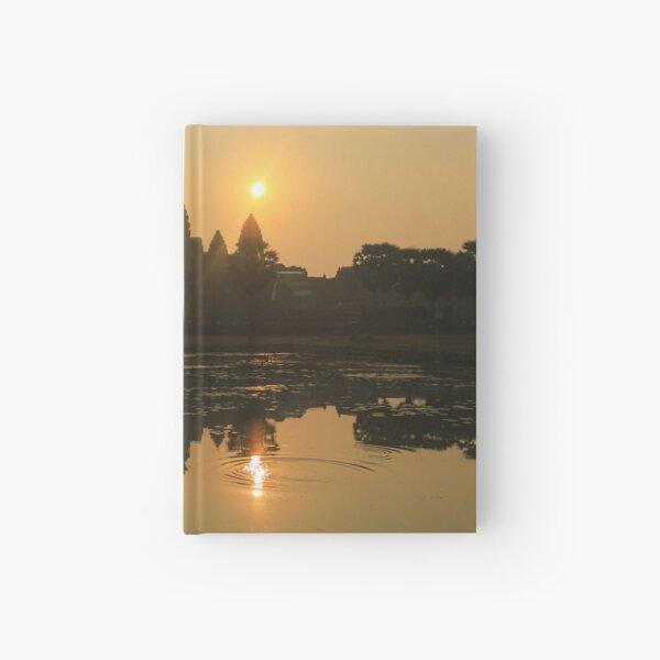 Angkor Wat Temple sunrise Hardcover Journal