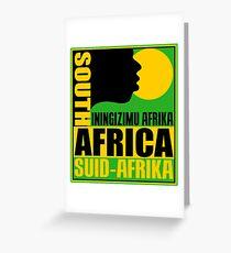 SUID-AFRIKA Greeting Card