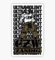CZW Zandig Shirt Sticker