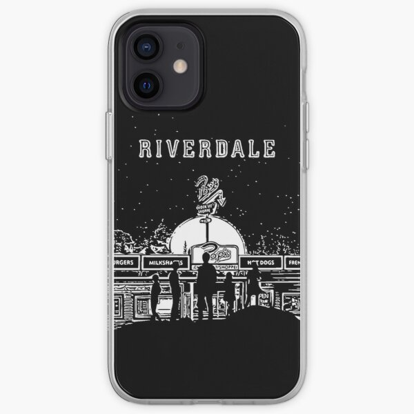 Riverdale Black And White Pop's Chock'lit Shoppe Coque souple iPhone