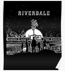Riverdale - Schwarzweißer Pop - Chock'lit Shoppe Poster