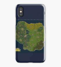 Fortnite Map  iPhone Case