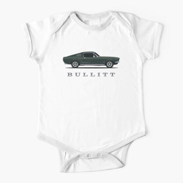 Mustang Bullitt Short Sleeve Baby One-Piece