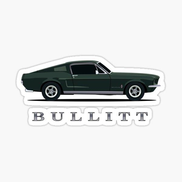 Mustang Bullitt Sticker