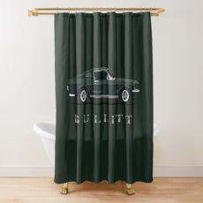 Mustang Bullitt Shower Curtain