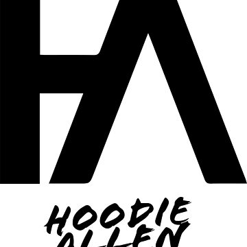 Hoodie Allen 2018 Logo by DeadlyGraphics