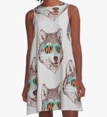 Woof A-Line Dress
