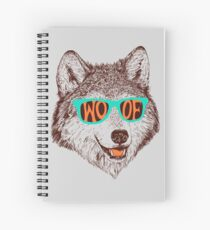 Woof Spiral Notebook