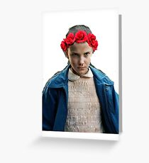 Eleven Flower Crown Greeting Card