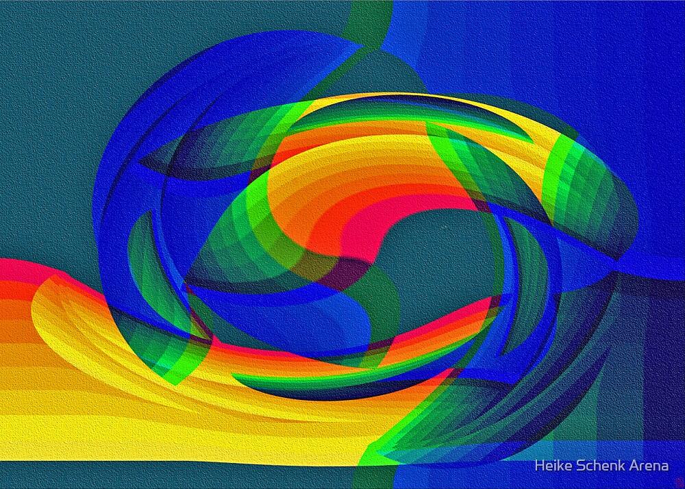 Waterrainbow by Heike Schenk Arena