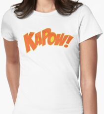 KAPOW Women's Fitted T-Shirt