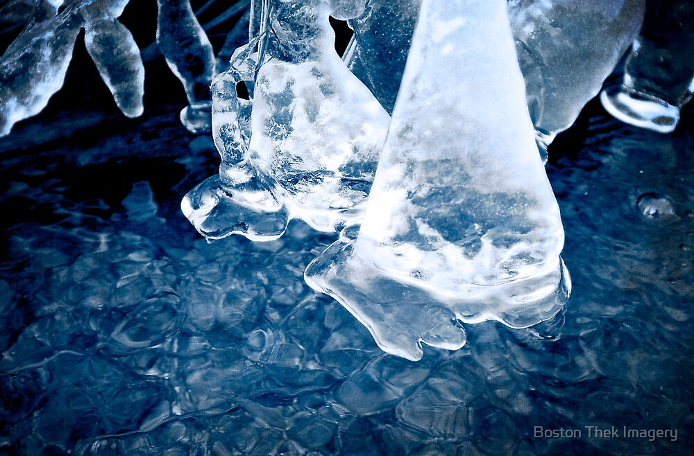 Ice Formation by Boston Thek Imagery