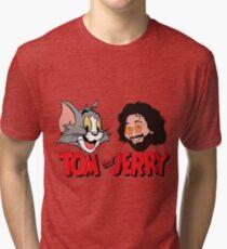 Tom and Jerry Garcia Tri-blend T-Shirt
