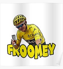 Froomey - Chris Froome Poster