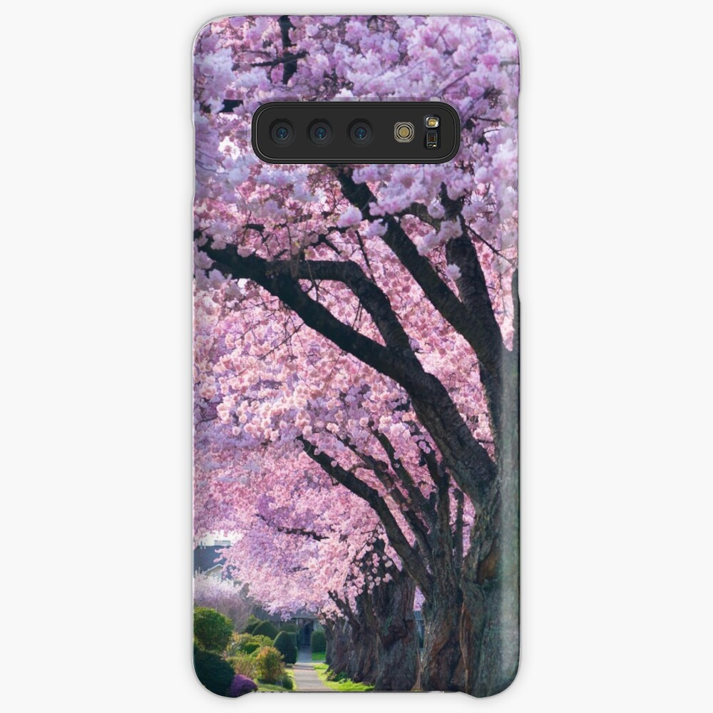 Blossoming Street Case & Skin for Samsung Galaxy