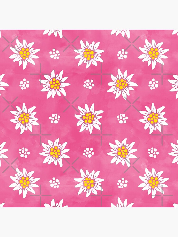 ALPS EDELWEISS ON ROSE, BY SUBGIRL by SUBGIRL