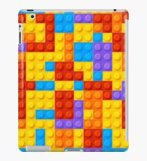Bight and Colorful Nostalgic Building Blocks  iPad Case/Skin