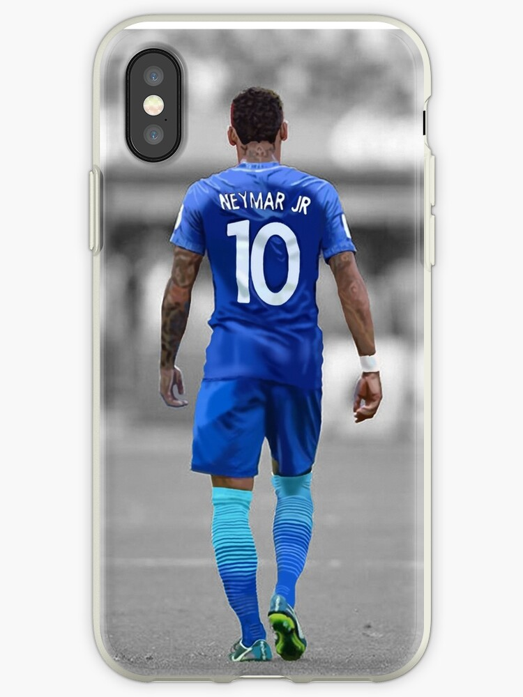 b9ab899f853ce 'Neymar Jr 10' iPhone Case by TDCartoonArt